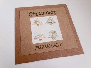 Stylusboy - Christmas Light EP - Handmade Sleeve