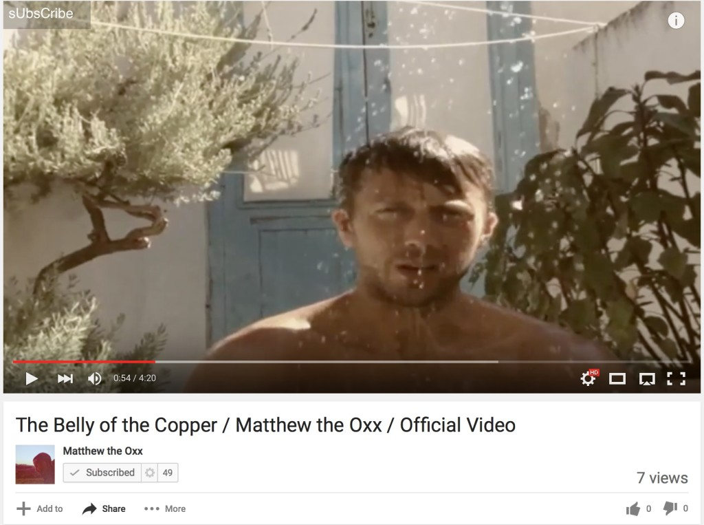 New video from Matthew The Oxx